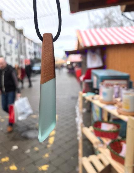 Turquoise Shard Necklace