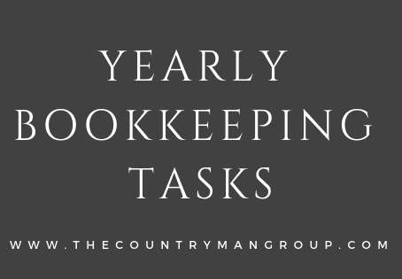Yearly Bookkeeping Tasks