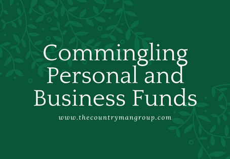 Commingling Business and Personal Funds