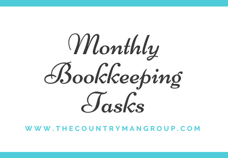 Monthly Bookkeeping Tasks