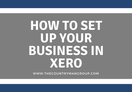 How to Set Up Your Business in Xero