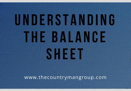 Understanding The Balance Sheet