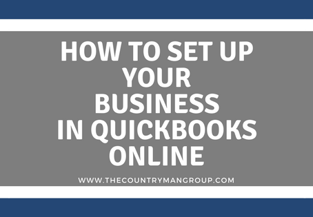 How to Set Up Your Business in QuickBooks Online