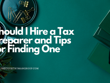Do I Need a Tax Preparer? And Tips to Finding One