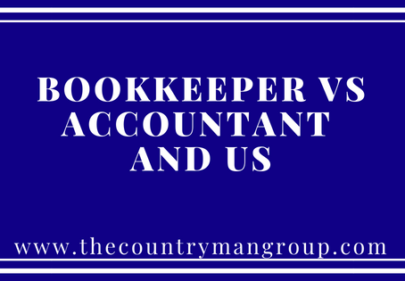 Bookkeeper vs Accountant and Us
