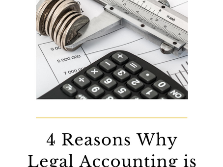 4 Reasons Why Legal Accounting is Important
