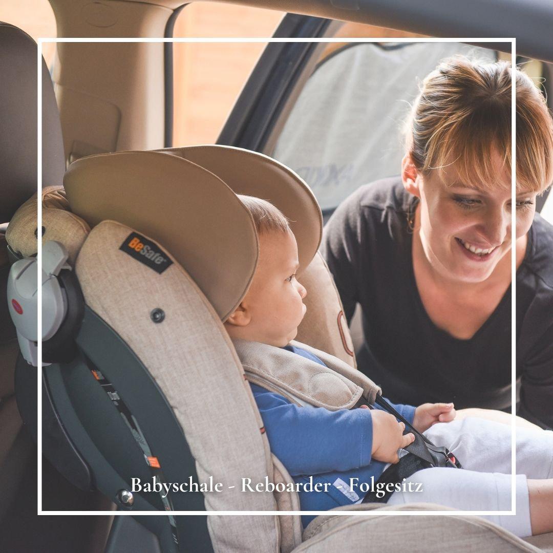 Kindersitzberatung Babyschale mit KIND