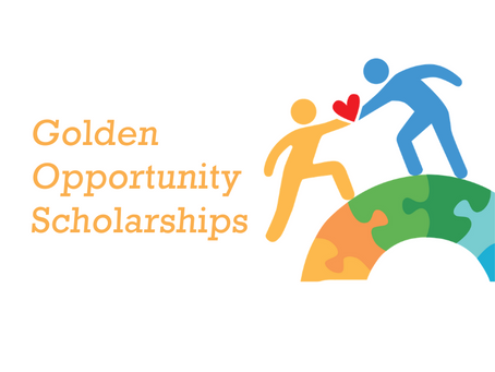 Congrats to Golden Opportunity Scholarship recipients!