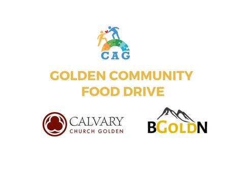 Golden Community Food Drive