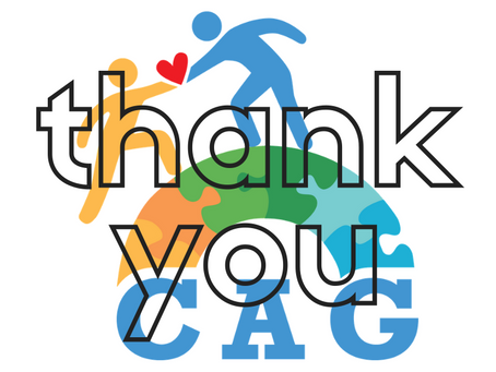 Community Thank You from the CAG Board of Directors