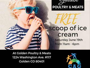 Fundraiser for CAG at Golden Poultry & Meats
