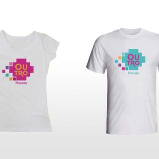 Outro planeta - camiseta