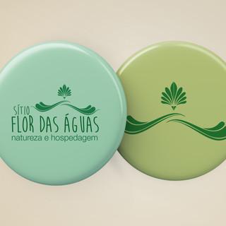 Flor das águas - pin