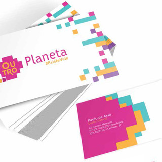 Outro planeta - cartão