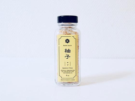 Bath Salts: Yuzu - Sels de bain