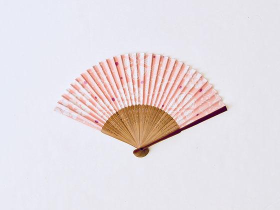 Cotton Hand Fan - Éventail en coton