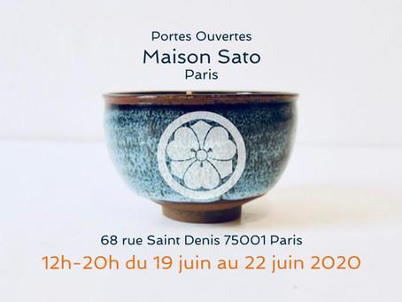 Portes ouvertes: Maison Sato Paris
