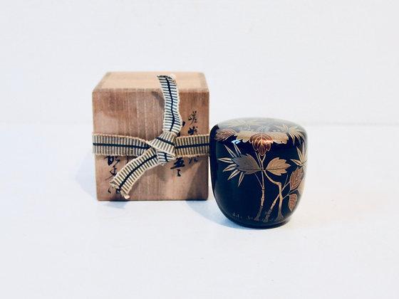 Vintage Natsume - Boîte à thé matcha