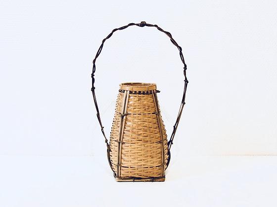 Vintage Hanakago - Vase en bambou