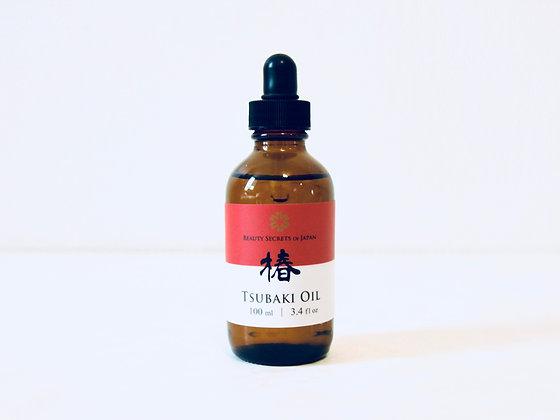 Organic Tsubaki Oil 100ml - Huile de camélia