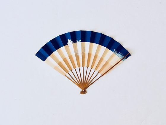 Vintage Hand Fan - Éventail