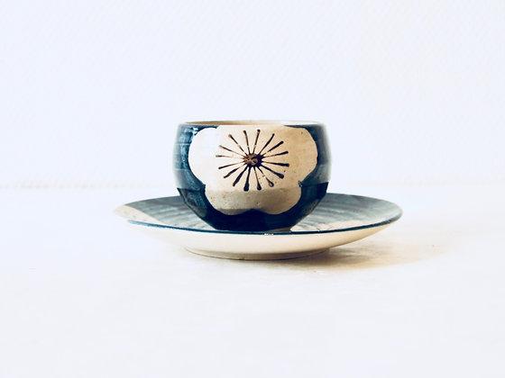Vintage Teacup & Saucer - Tasse à thé & soucoupe