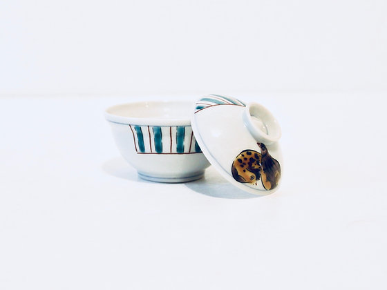 Mini Vintage Bowl With Lid - Mini bol avec couvercle