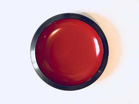 Vintage Lacquer Plate - Assiette laqué