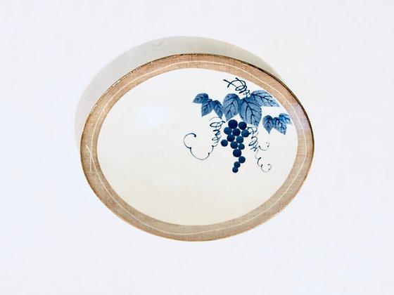 Large Vintage Plate - Grande assiette