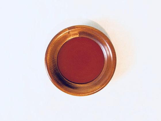 Vintage Lacquer Saucer - Soucoupe laquée