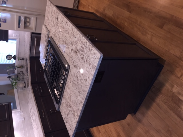 Beautiful new granite counter tops
