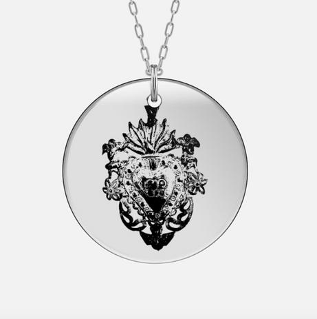 amuleto sacro cuore