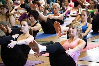 yoga class 15