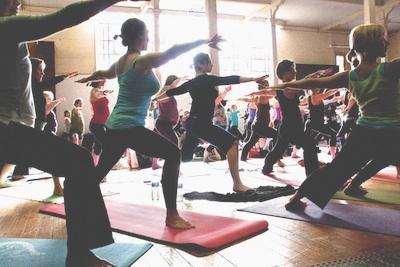 yoga class 13