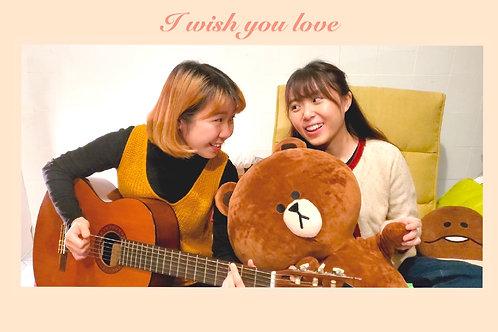 【結他譜】《 I Wish You Love 》Guitar Chords PDF 【自由定價】