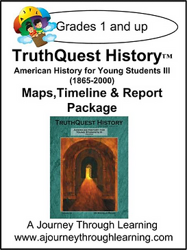 AJTL Map/Timeline/Report for TQH: American History for Young Students III (PDF)