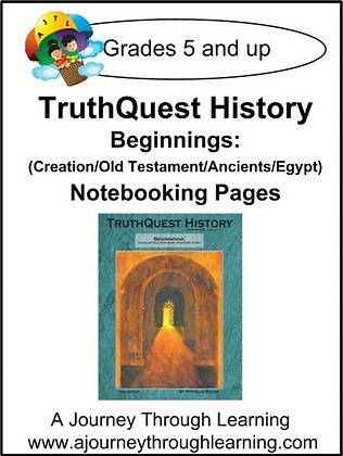 AJTL Notebook for TQH: Beginnings (PDF)