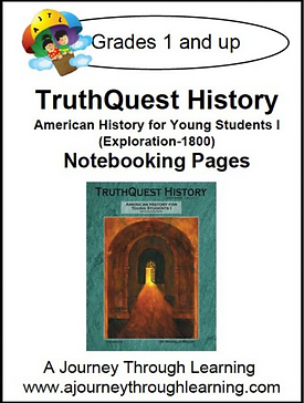 AJTL Notebooking Pages for TQH: American History for Young Students I (PDF)