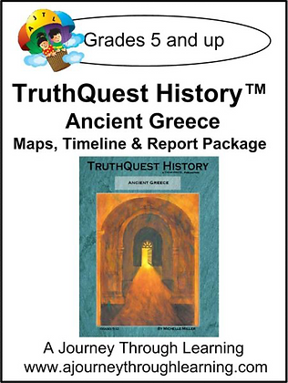 AJTL Map/Timeline/Report: Ancient Greece (PDF)