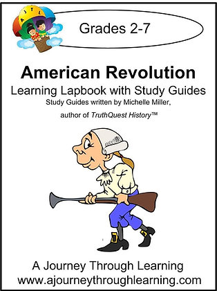 American Revolution Lapbook and Study Guide (PDF)