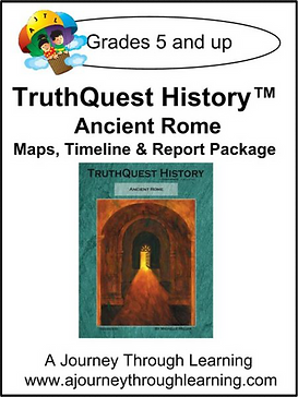 AJTL Map/Timeline/Report Package for TQH: Ancient Rome