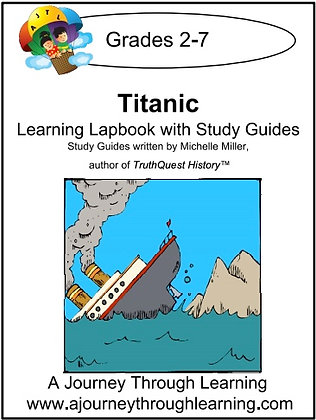 Titanic Lapbook and Study Guide (PDF)
