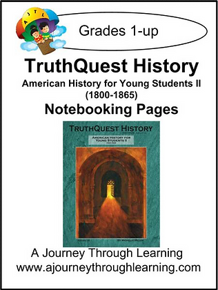 AJTL Notebooking Pages for TQH: American History for Young Students II (PDF)