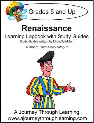Renaissance Lapbook and Study Guide (PDF)