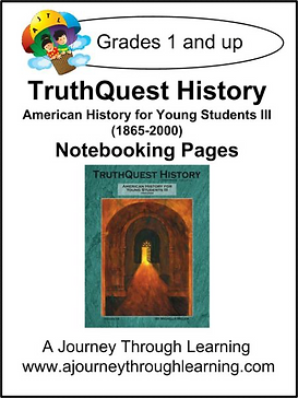 AJTL Notebooking Pages for TQH: American History for Young Students III (PDF)