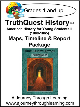 AJTL Map/Timeline/Report for TQH: American History for Young Students II (PDF)