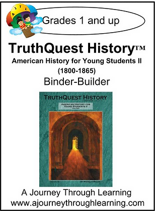 AJTL Binder-Builder for TQH: American History for Young Students II (PDF)