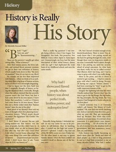 "History is Really ""His Story"""
