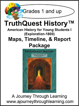 AJTL Map/Timeline/Report for TQH: American History for Young Students I (PDF)