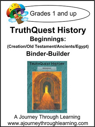 AJTL Binder-Builder for TQH: Beginnings (PDF)